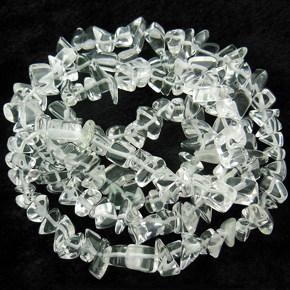 COIRIS 33'' Strand 9-16MM Clear Quartz Crystal Loose Beads Chips Stone for Jewelry DIY Making (St-1081) t27635835254