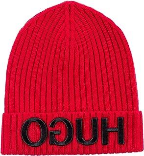 Unisex-X 537 Red Wool Beanie Cap 50395795 615