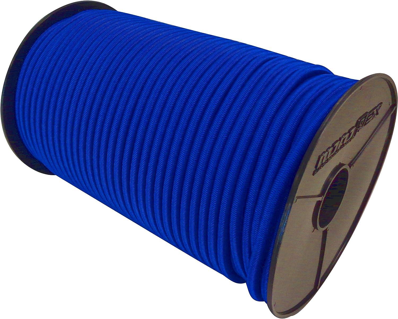 Expanderseil Set 10m Blau 6mm Gummiseile Gummischnur Planenseil 10x Spiralhaken