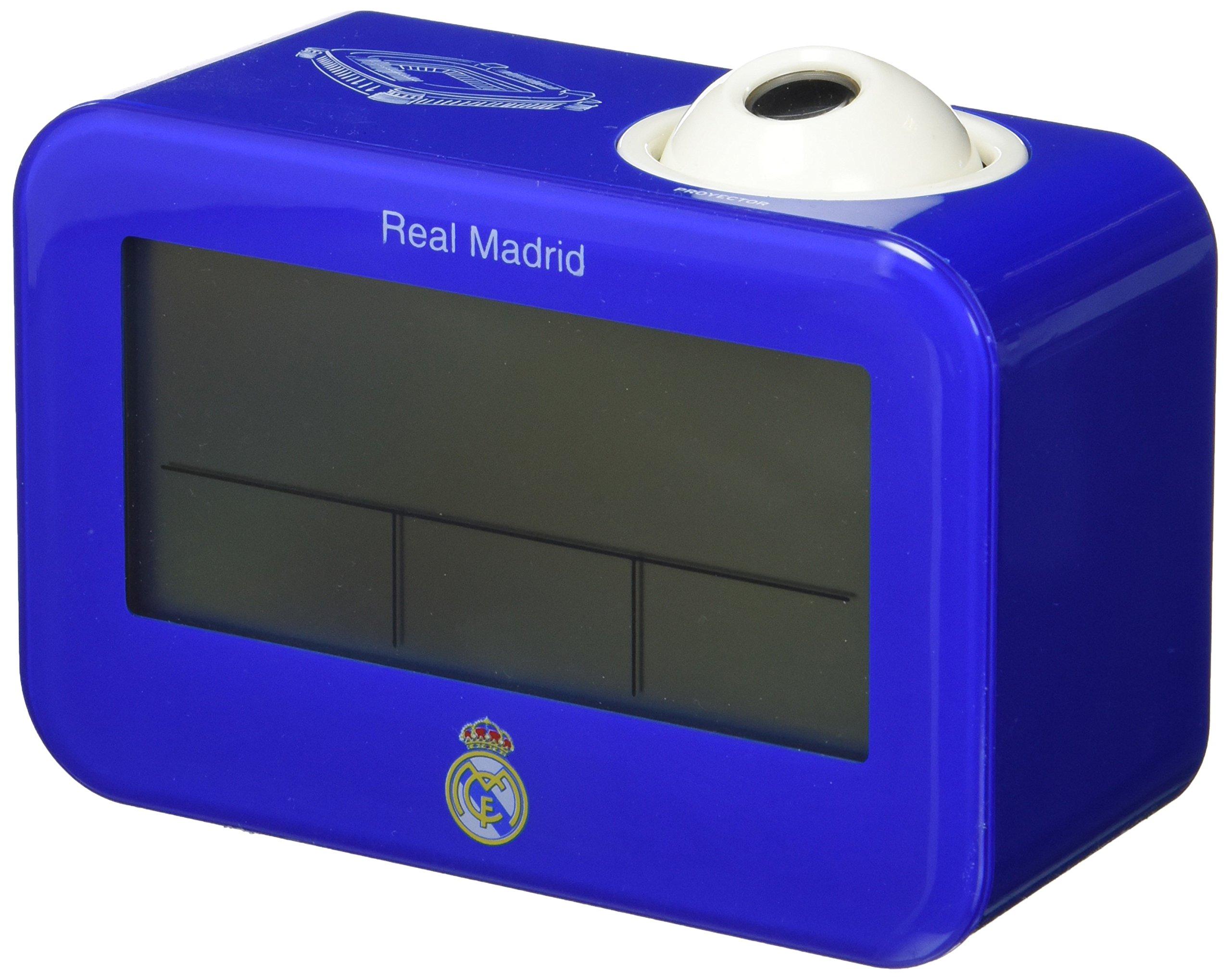 Seva Import Real Madrid Despertador, Unisex Adulto, Azul/Blanco, Talla Única: Amazon.es: Deportes y aire libre