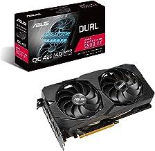 ASUS AMD Dual Radeon RX 5500 XT EVO OC Edition Gaming Graphics Card (PCIe 4.0, 4GB GDDR6 Memory, HDMI, DisplayPort, Full H...