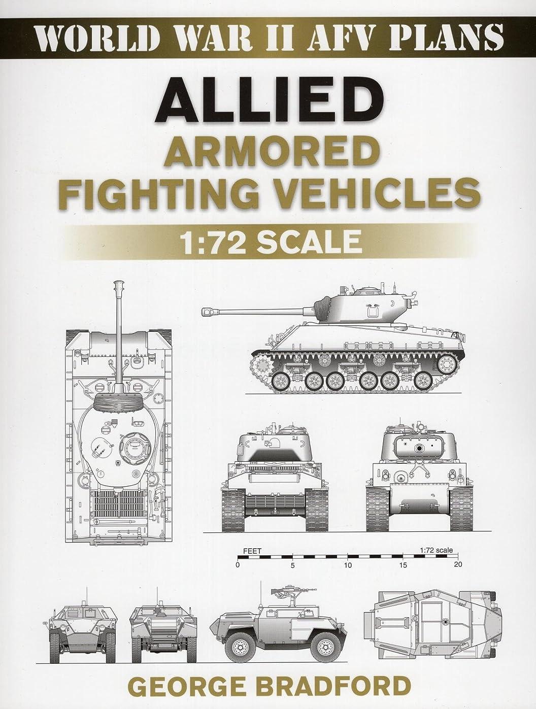 本当に悪名高い天才Allied Armored Fighting Vehicles: 1:72 Scale (World War II AFV Plans) (English Edition)