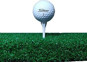 """All Turf Mats 60"""" X 60"""" XL Tee Golf Mat - Holds A Wooden Tee"""