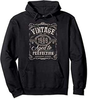 50th Birthday gift Vintage dude 1969 50 year old hoodie