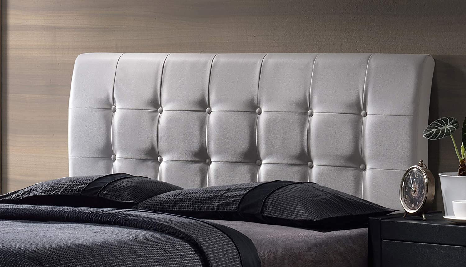 Hillsdale Lusso Price reduction Full Upholstered All items free shipping White Headboard