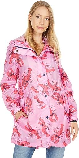 Printed Waterproof Packaway Jacket