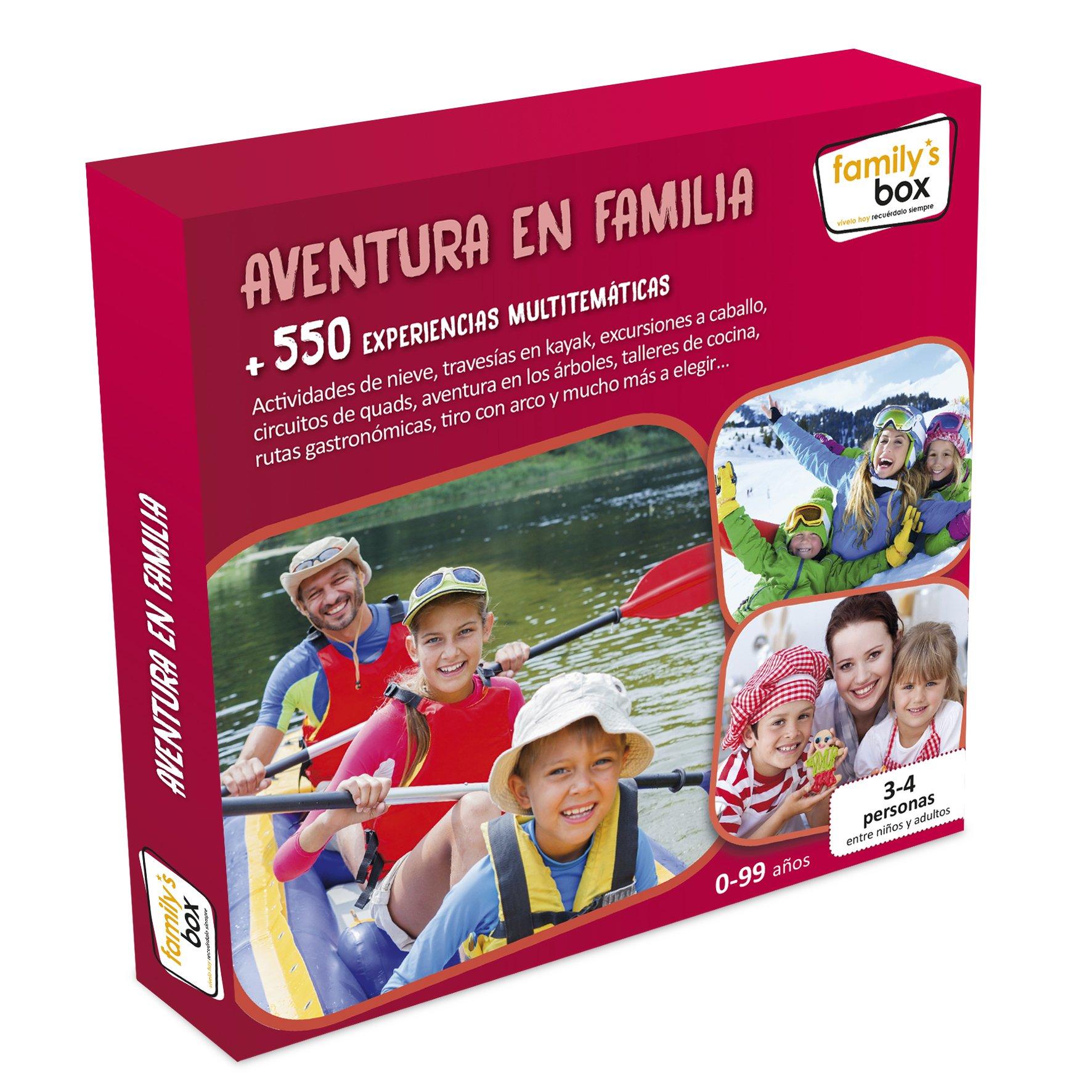 Cofre DE EXPERIENCIAS Aventura EN Familia - Más de 600 ...