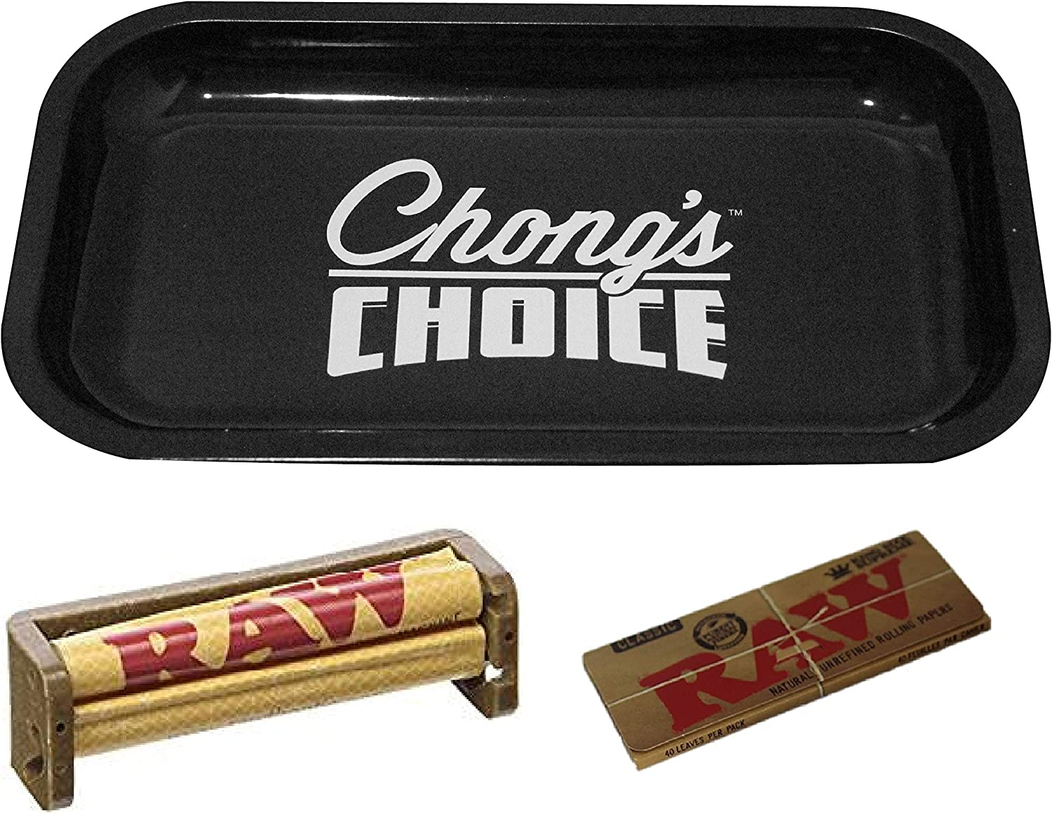 Chongs 5 ☆ popular Choice Rolling 1 year warranty Tray Small Bundle Raw 110mm with Roller an