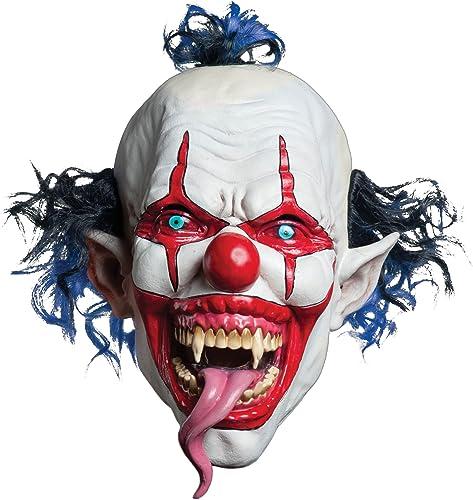 Máscara de payaso maléfico adulto Halloween