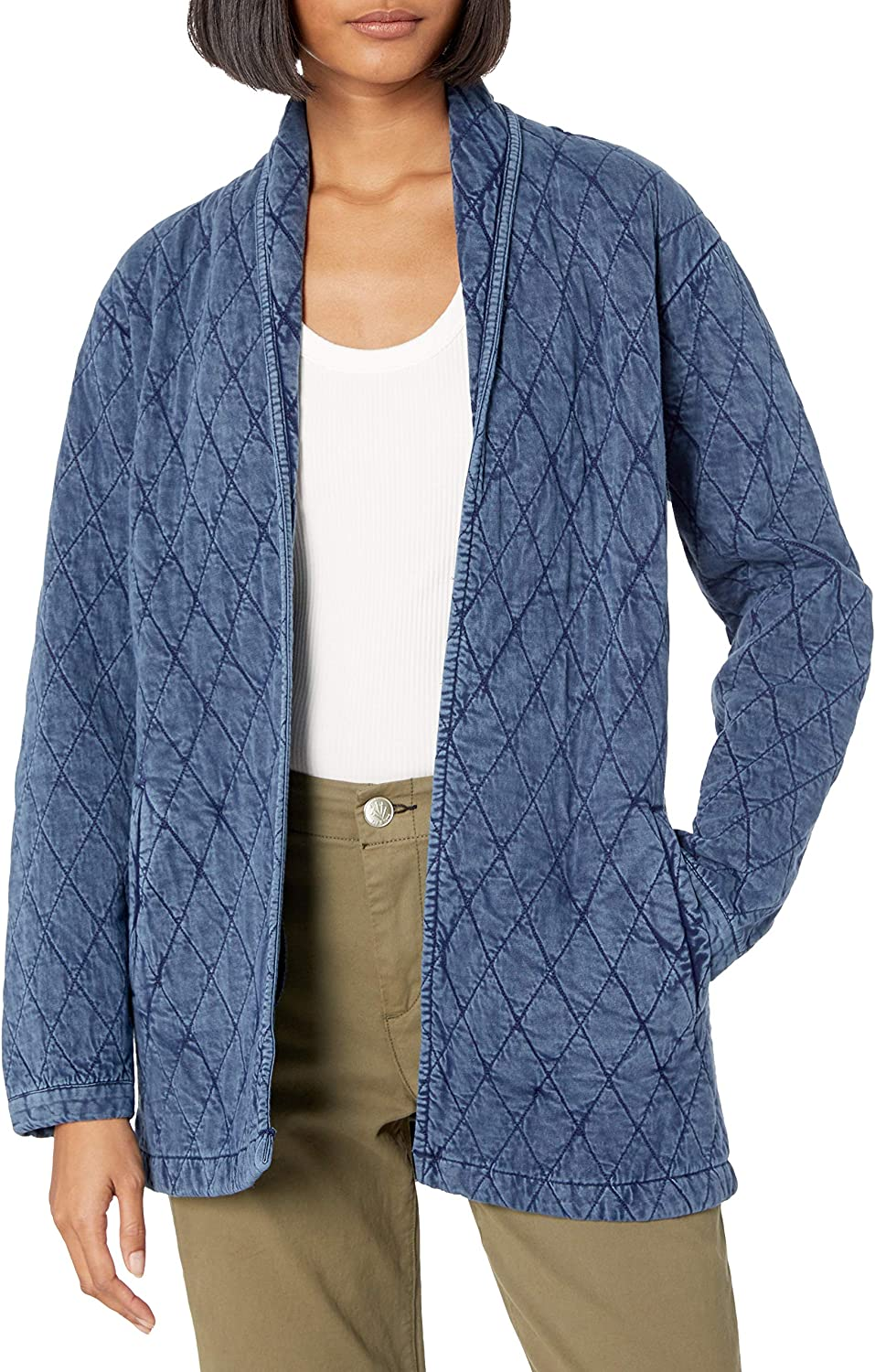 Lucky Brand Women's Quilted Long Jacket
