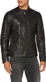 Superdry Men's Light Leather Racer Jacket