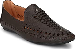 Andrew Scott Men's Synthetic Leather Loafers