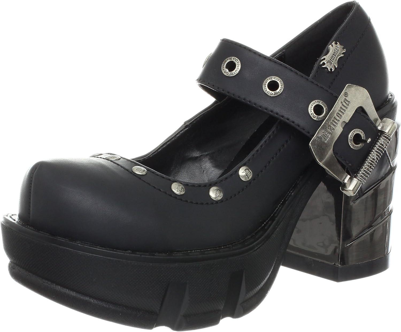 Pleaser Women's Sinister 59 B Ankle Boot,Black