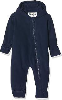 Playshoes Unisex Baby Fleece-Overall Uni Strampler