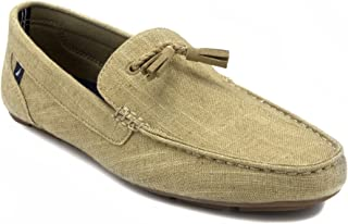 Weldin Men's Casual Tassel Slip-On Driving Penny Loafers Boat Shoes Driver Moccasins