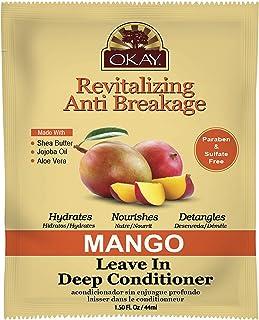 Okay Revitalizing Anti Breakage Mango Leave In Conditioner 1.5oz, 1.5 Oz