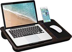 LapGear Home Office Lap Desk with Device Ledge, Mouse Pad, and Phone Holder –..