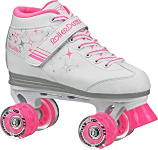 Roller Derby Girls Sparkle Lighted Wheel Roller Skate