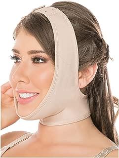 0322 Women Post Surgery Face Neck Chin Strap Mentonera Reductora