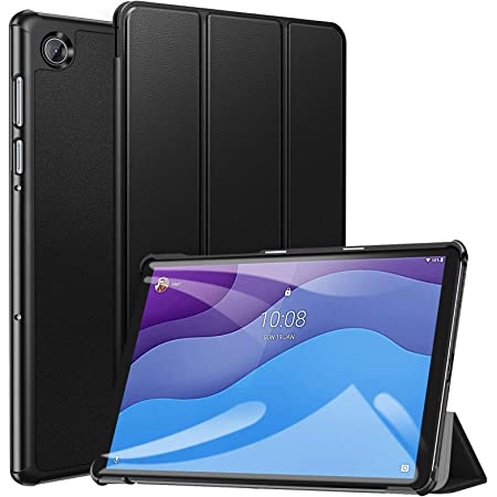 """ZtotopCase Custodia per Lenovo Tab M10 HD (2nd Gen) TB-X306X / TB-X306F, Cover Protettiva Pratica Ultrasottile Elegante per Lenovo Tab M10 10.1"""" HD 2020, Nero"""