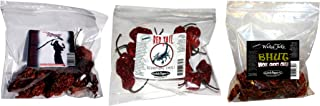 Spice Gift Set Ghost Pepper Scorpion Chili Carolina Reaper Peppers Dried Whole Peppers