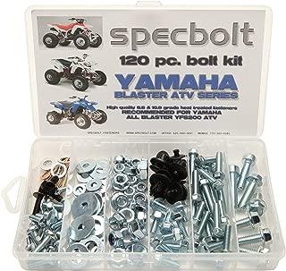Specbolt Fasteners Brand Bolt Kit: fits Blaster YFS200 Model Series ATV 1988-present (120 pc)