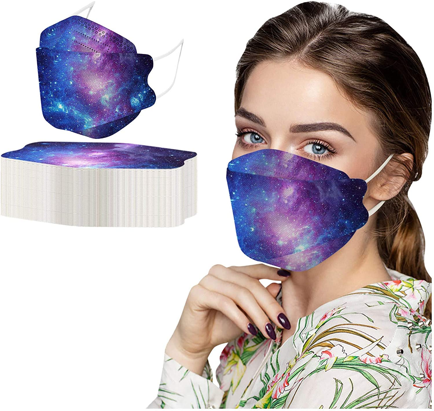 50pcs Lowest price challenge Colorful Adult's KF94_Face_Mask packs 4-Pl Disposable OFFicial site 100