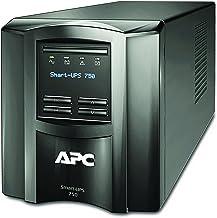 APC 750VA Smart UPS with SmartConnect, SMT750C Sinewave UPS Battery Backup, AVR, 120V, Line Interactive Uninterruptible Po...