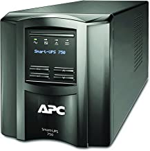 APC 750VA Smart-UPS with SmartConnect, Pure Sinewave UPS Battery Backup, Line Interactive, 120V Uninterruptible Power Supply (SMT750C)
