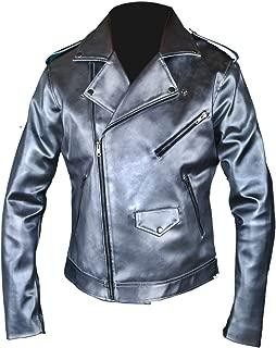 F&H Kid's X-Men Apocalypse Evan Peters Quicksilver Double Rider Xmen Jacket