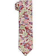 Retro Flower Print Tie