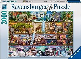 Ravensburger- Puzzle 2000 Pièces Magnifique Monde Animal Aimee Stewart Puzzle Adulte, 4005556166527
