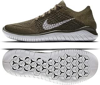 Free RN Flyknit 2018 942838 300 Cargo Khaki/Pure Platinum Men's Running Shoes