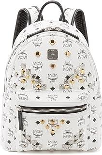 MCM Womens Stark M Stud Small Backpack