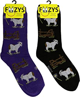 Best fuzzy goat socks Reviews