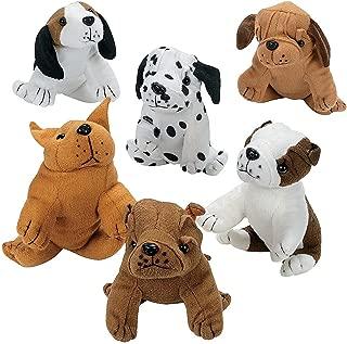 realistic plush dog