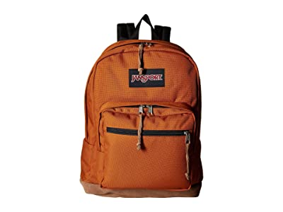 JanSport Right Pack (Brown Canyon) Backpack Bags