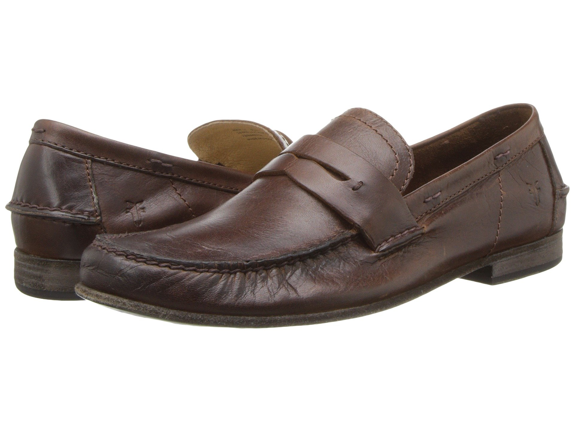 b47dae451d7 FRYE LEWIS LEATHER PENNY