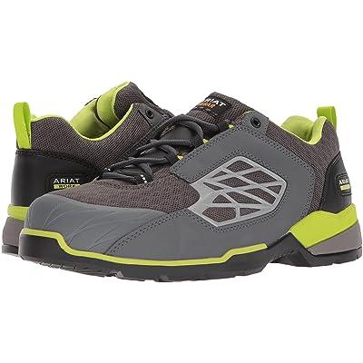 Ariat Rebar Giga Flex (Charcoal Grey/Neon Green) Cowboy Boots