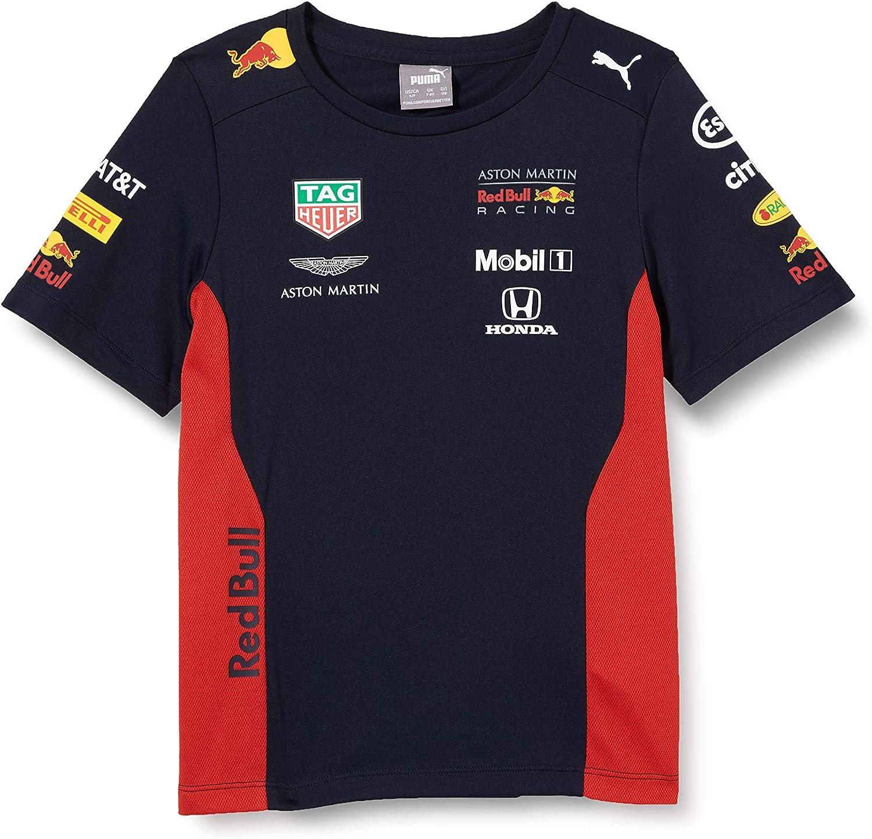 Red Bull Racing Jungen Amrbr Yr Team T Shirt Bekleidung
