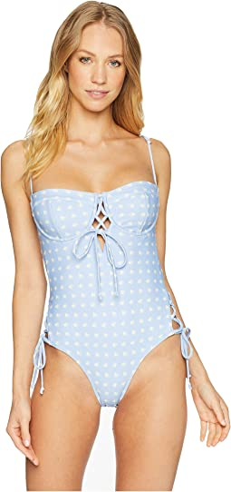Heart Throb Lace One-Piece