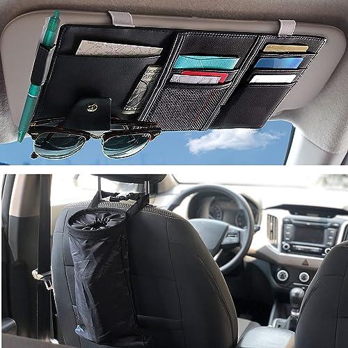 lowest EcoNour Gift Bundle   Car Sun Visor Organizer + Car Trash Bag (2 Pack)   Leakproof new arrival high quality Litter Bag   Detachable Garbage & Storage Bag   Auto Interior Accessories   Pocket Organizer online