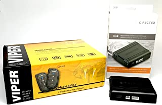 Viper 4105V Remote Car Starter 1-Way TWO 4-Button Remote Keyless New Model 2017 و کارگردانی DB3 XPressKit DEI Databus ALL بسته کوچک موسیقی جاز گذرگاه / بسته قفل درب