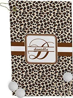 RNK Shops Leopard Print Golf Towel - Full Print (Personalized)