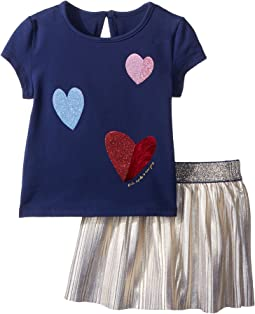 Tossed Hearts Skirt Set (Infant)