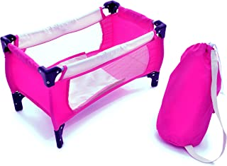 Exquisite Buggy Doll Pack N Play Crib Fits up to 18