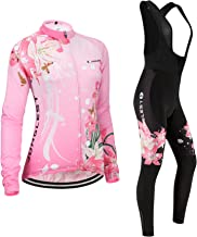 JUNGLEST Maillot de Cyclisme Femme Manches Courtes Jersey S~5XL,Option:Cuissard,3D Coussin N207