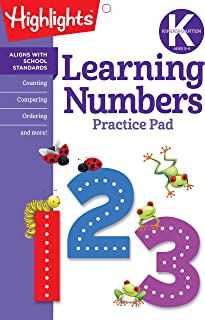 Learning Numbers (Highlights™  Learn on the Go Practice Pads)