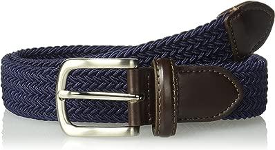 Dockers Big Boys' Braided Elastic-Web Stretch Belt