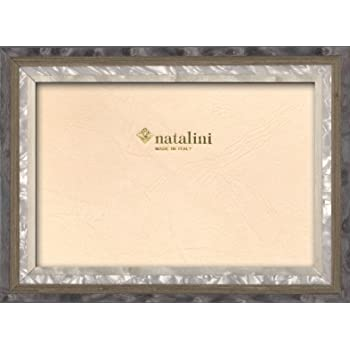 """Natalini MEDIUM Marquetry Wood Photo Picture Frame Made In Italy 5""""x 7"""" New!"""